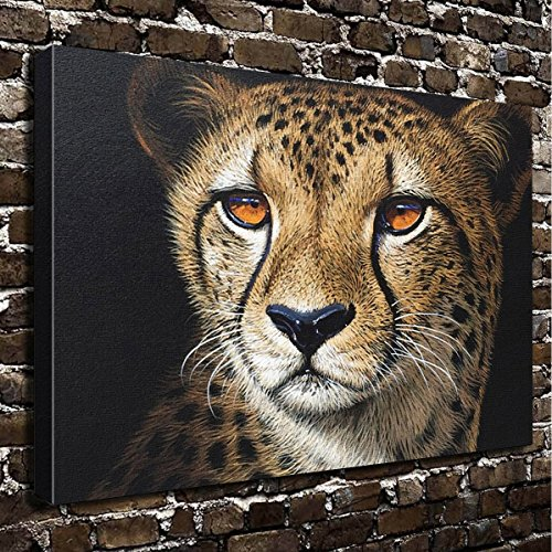 Colorsforu Wall Art Painting Cheetah Prints On Canvas The Picture Landscape Pictures Oil For Home Modern Decoration Print Decor For Living Room