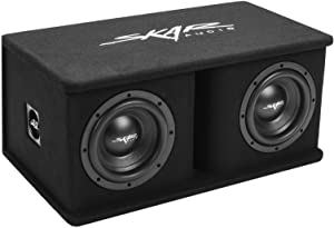 "Skar Audio Dual 8"" 1400W Loaded SDR Series Vented Subwoofer Enclosure 