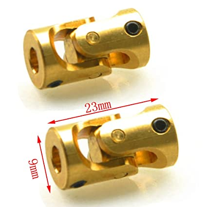 Brass Universal Joint Shaft Coupling Connector RC Model Boat Car 3 x 3mm