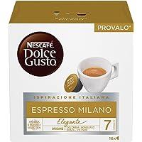 NESCAFÉ Dolce Gusto Espresso Milano, Caffè Espresso, 6 Confezioni da 16 Capsule (96 Capsule)