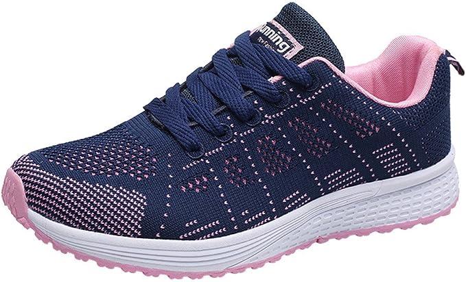 Zapatos Mujer Ligeros,2020 Moda Zapatillas Mujer Malla Redonda ...