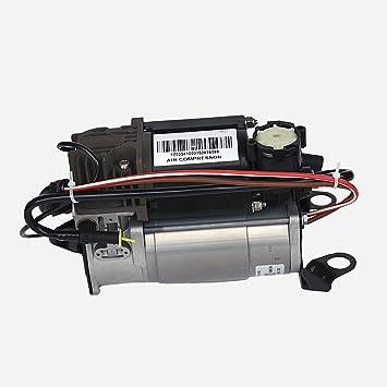 Compresor de bomba de aire de suspensión neumática Ride: Amazon.es: Coche y moto