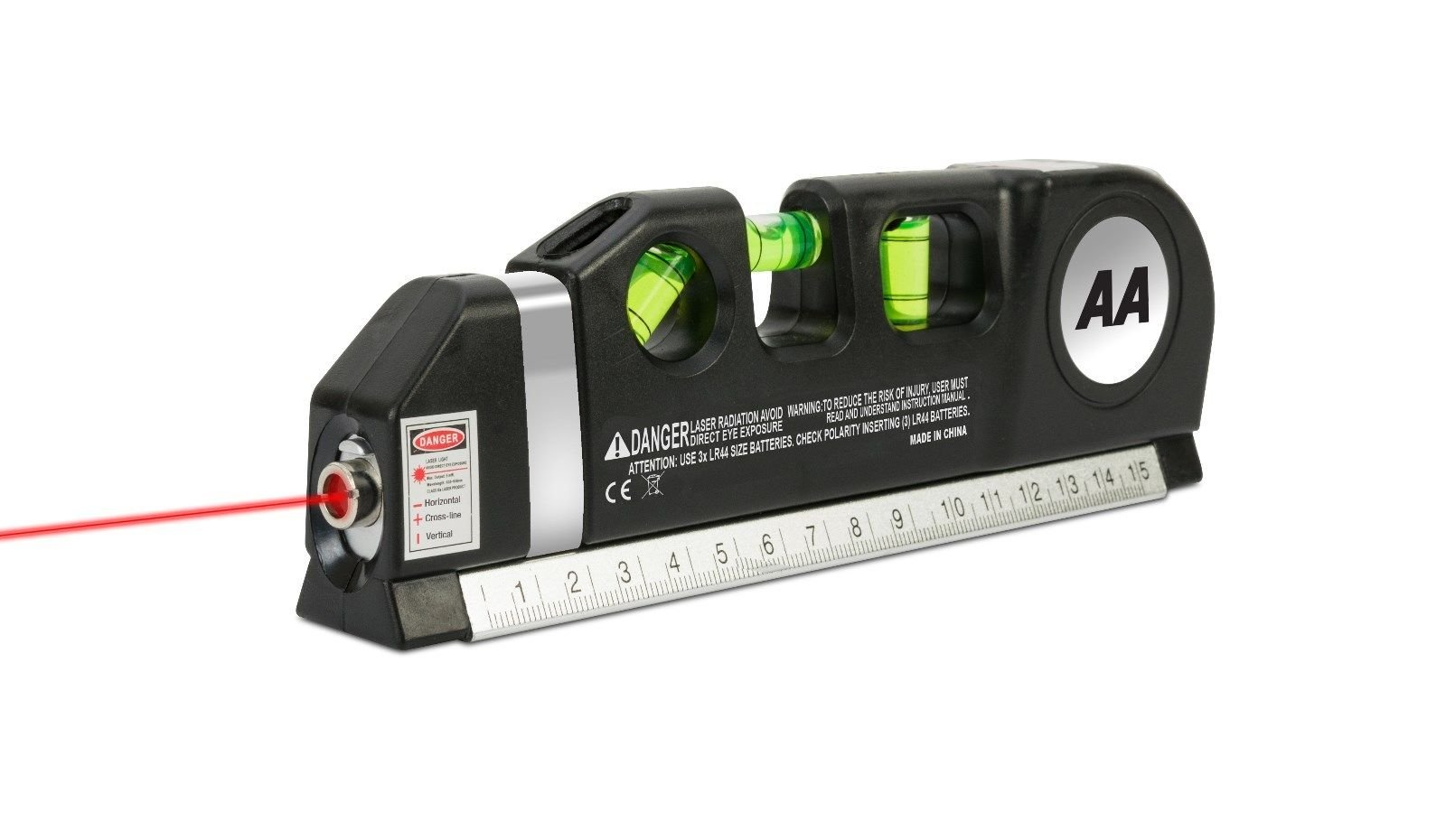 Measuring Tape Semlos Multipurpose Laser Level Standard and Metric Tape Ruler Spirit Levels 8ft//250cm
