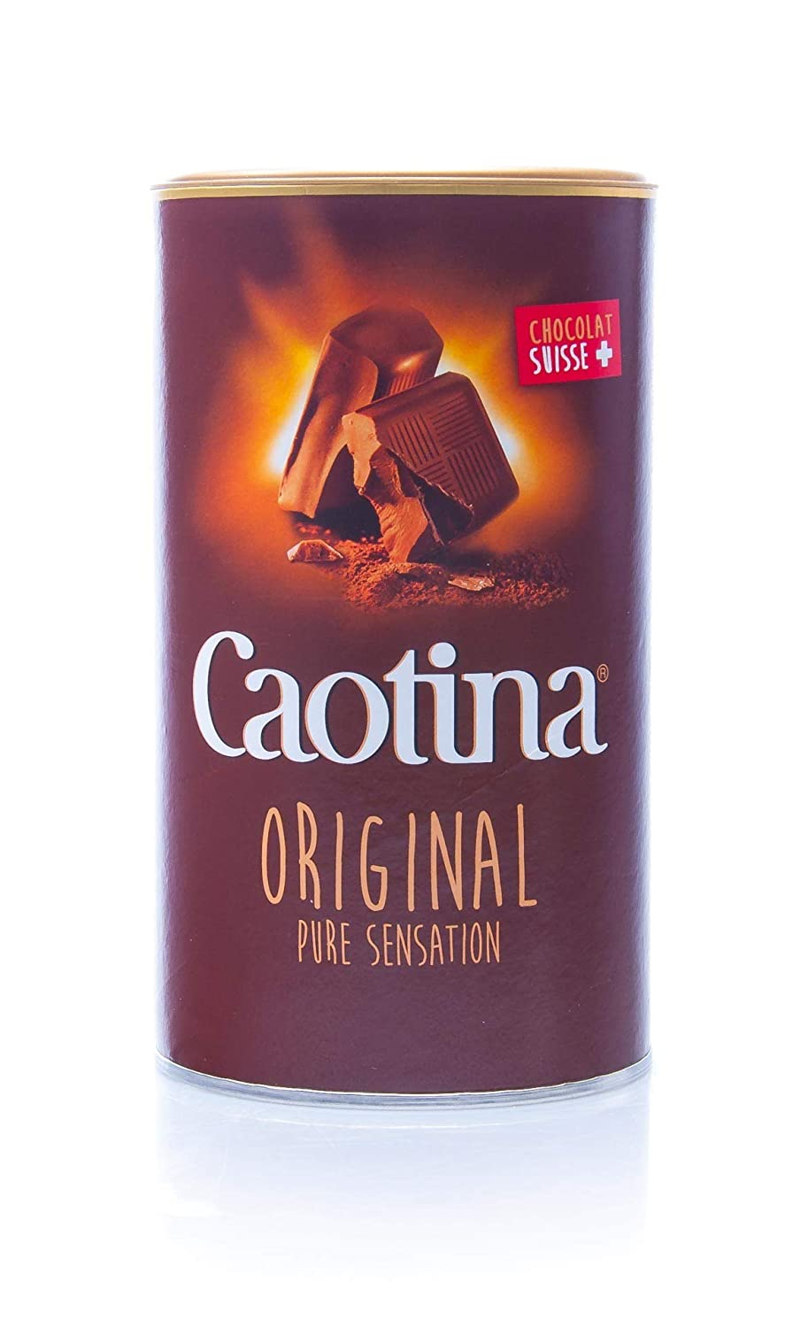 Caotina original, Cacao en Polvo de Chocolate Suizo, Bebida de Chocolate Caliente, Pack Doble, 2 x 500 g: Amazon.es: Hogar
