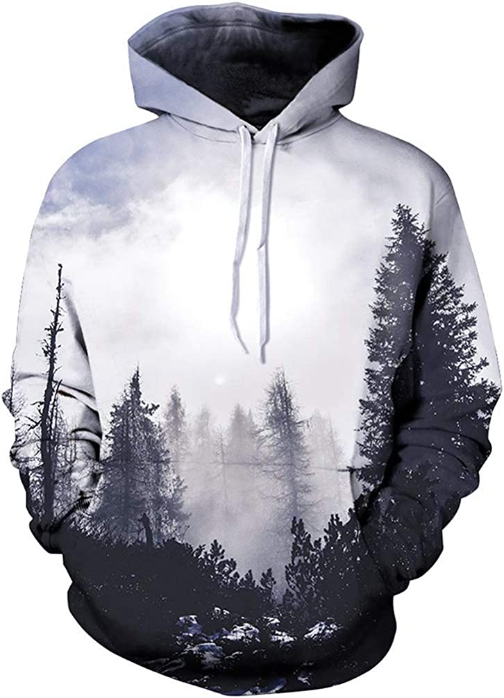 Top 10 Sweatshirts Nature Graphic Xxl