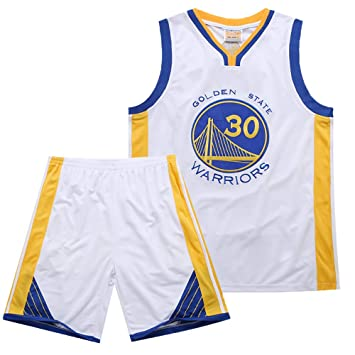 MAZO-Sport Warriors Curry 30th Jersey Suit para Adulto ...