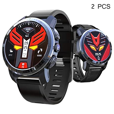 AZWE 4G Smartwatch, Smart Watch con 4G 3Gb + 32Gb Mt6739 Ip67 ...