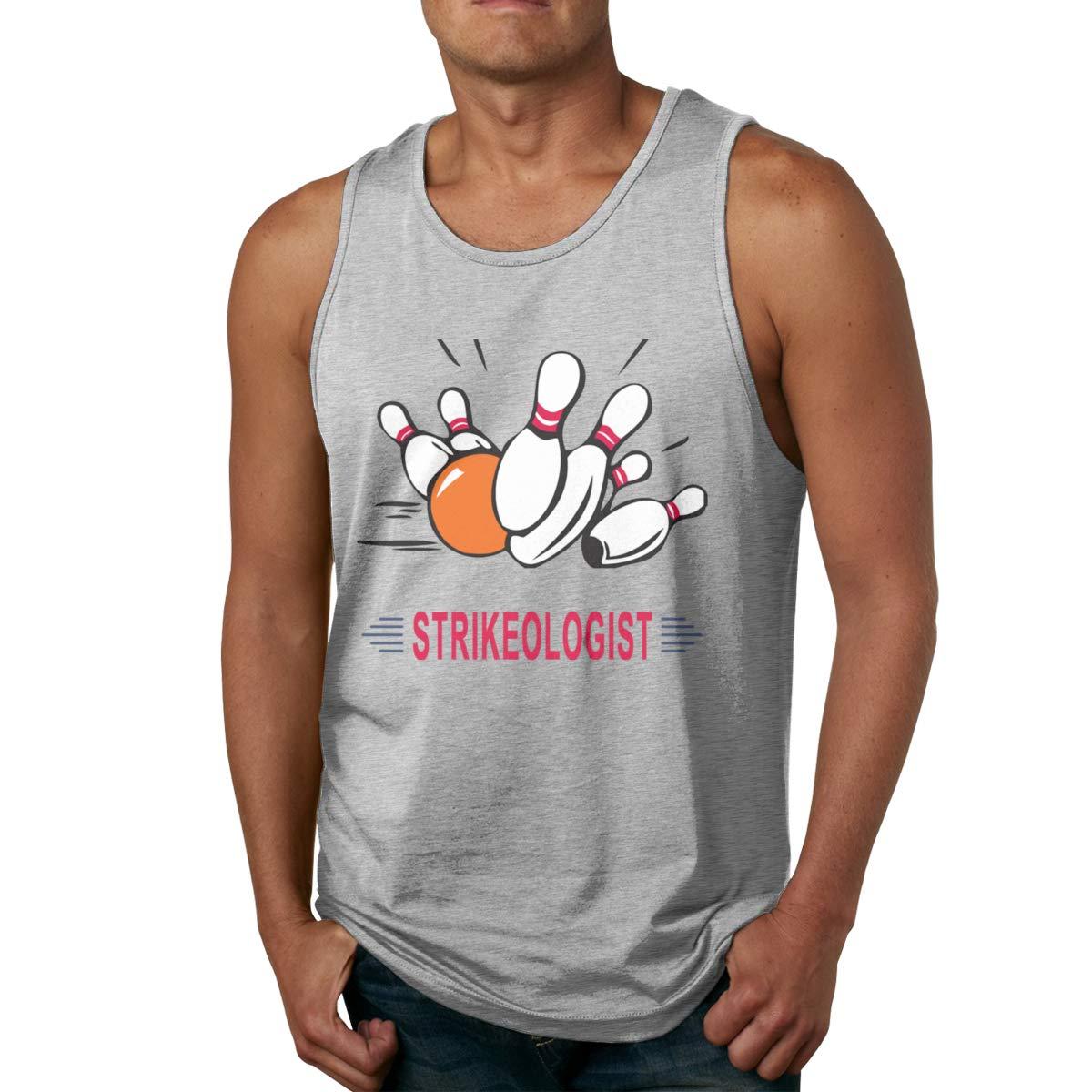 Seuriamin Strikeologist Bowling S Casual Workout Sleeveless Tank Top T Shirt