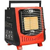 LEKING ガスストーブ カセットガスヒーター 小型マイ暖 暖房機 速暖・持ち運び簡単・屋内専用
