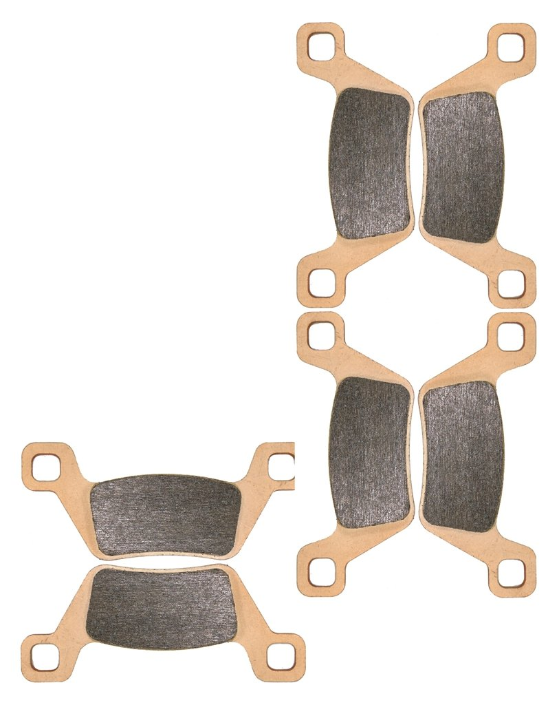 Sintered HH Bremsbelage Setzen for ATV Bike MXU700 MXU 700 cc 700cc i 4x4 LOF 2013 2014 2015 13 14 15 6 Pads