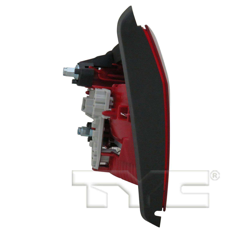 TYC 17-5574-00-1 Replacement Left Reflex Reflector for Volkswagen Passat