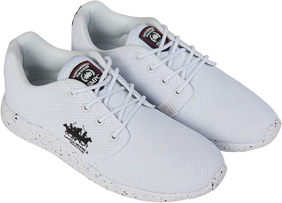 Santa Monica Polo Club Zapatillas de Hombre Cordones Deporte ...