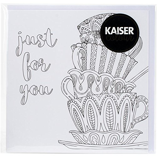 Kaisercraft CL1009 Just for You Kaisercolour Gift Card with Envelope, 6x6 6x6