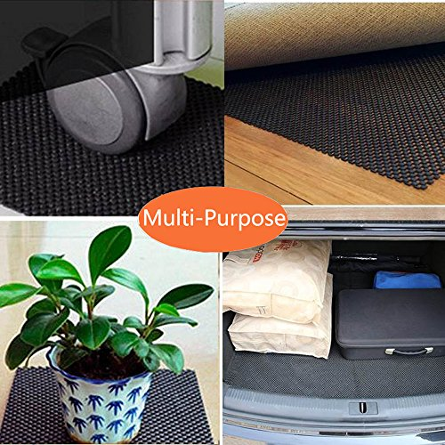 Life-Mate Car Roof Cargo Carrier Protective Mat Anti Slip Roof Rack Pad with Extra Padding for Cargo Storage Bags Roof Top Carriers. by Life-Mate (Image #3)