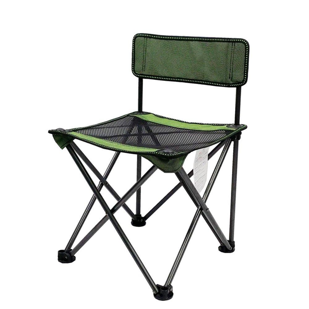 【新作入荷!!】 GFL椅子ポータブルアウトドアキャンプ折りたたみ椅子ビーチ背もたれ釣りラウンジチェア荷重を受ける80 kg (A + + グリーン + + グリーン グリーン + B07DLWQ5ZD, 今立郡:a5874277 --- cliente.opweb0005.servidorwebfacil.com