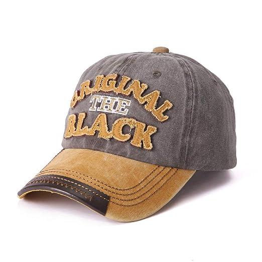Las Letras del Sombrero de los Hombres se hicieron Viejas Gorra de ...