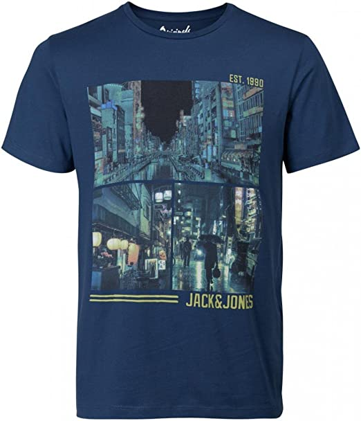 Jack & Jones Jorcartoon tee SS Crew Neck Camiseta para Hombre