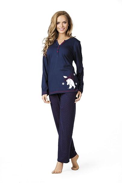 Comtessa - Pijama - para mujer azul oscuro X-Large
