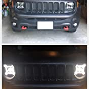 Amazon Com Opt7 Outlaw X Jeep Renegade Drl Led Headlights