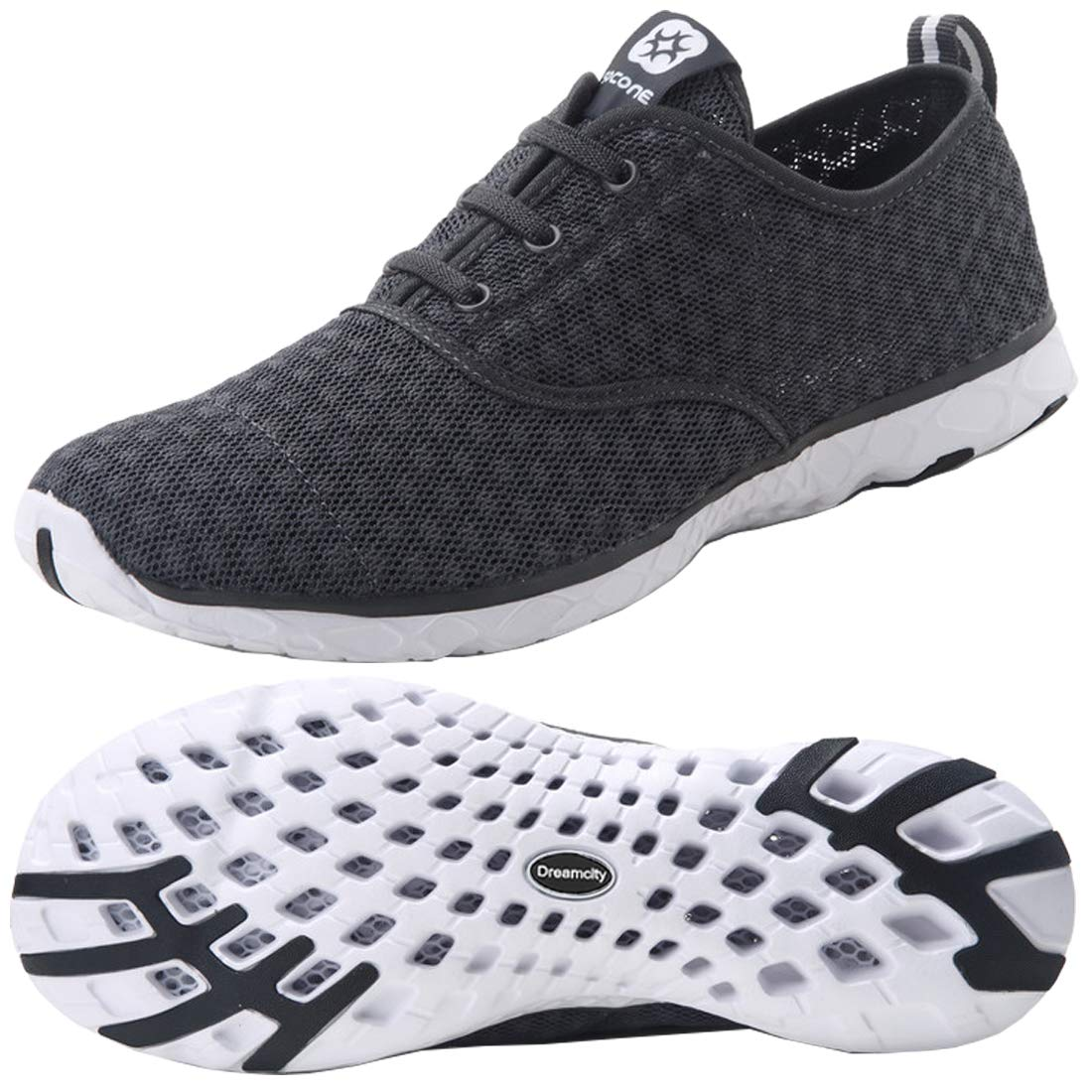 6887f6aa14f Dreamcity Men s Water Shoes Athletic Sport Lightweight Walking Shoes  product image