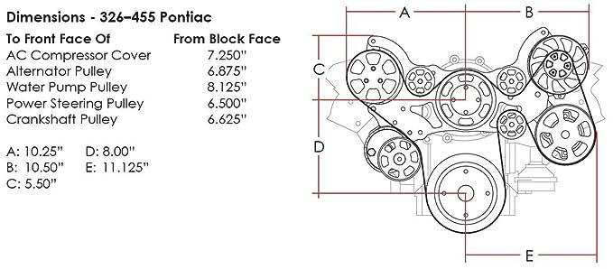 Amazon com: NEW BILLET SPECIALTIES PONTIAC TRU TRAC PULLEY