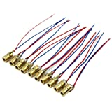 LALANCHE 10 Pieces of Mini Laser Diode Laser