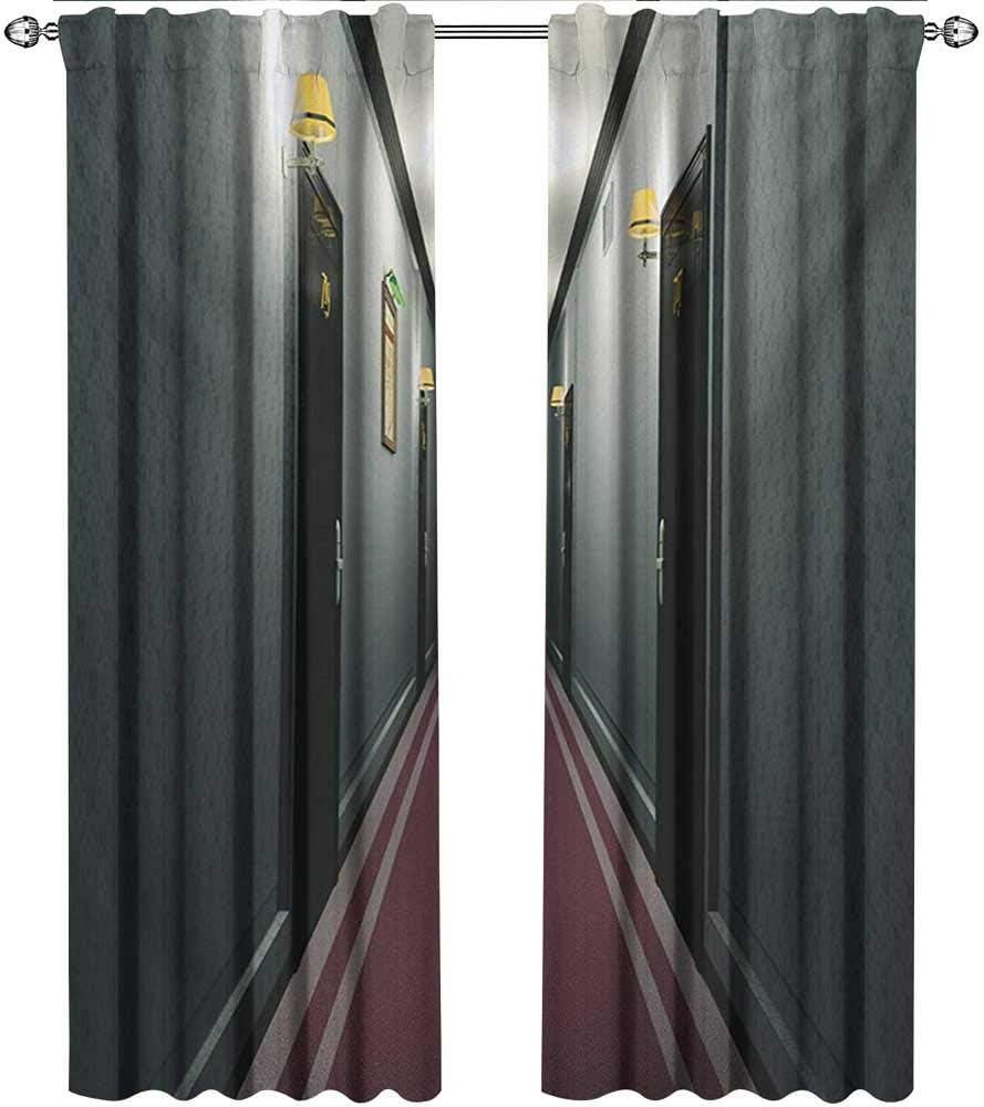 Wild One Curtain Cortinas Francesas,Puertas Corredizas De Vidrio,Lujoso Edificio del Pasillo del Hotel En El Interior,Diseño Clásico Francés De Interiores,Cortinas En La Sala De Estar