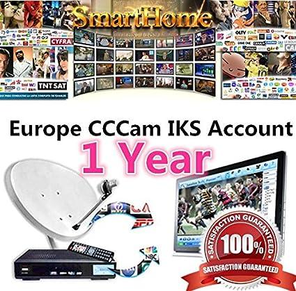 ARBUYSHOP 12 Meses Europea CCCAM Cline servidor de cuentas de Año ...