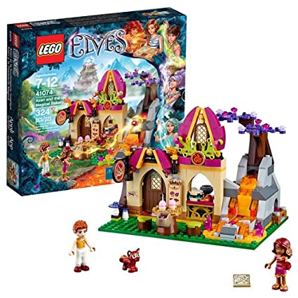 Amazon.com: LEGO Elves Azari and The Magical Bakery 41074: Toys & Games