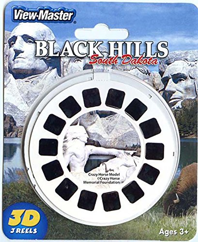 ViewMaster - Crazy Horse Memorial, Black Hills, South Dakota - 3 reels - 21 3D images - NEW by 3Dstereo ViewMaster