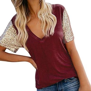 Oliviavan Camisetas de Mujer, Top Moda de Mujer Original Blusa ...