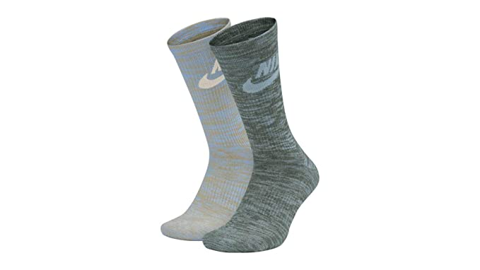 Amazon.com: Nike MENS Advanced 2-pk Calcetines de color ...