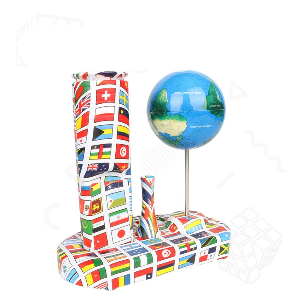 Desktop Globe Pazzo globo creativo giroscopio antigravità giocattolo di decompressione desktop esplosione transfrontaliera Globo della geografia mondiale ( colore   Blu , Dimensione   Free Dimensione )