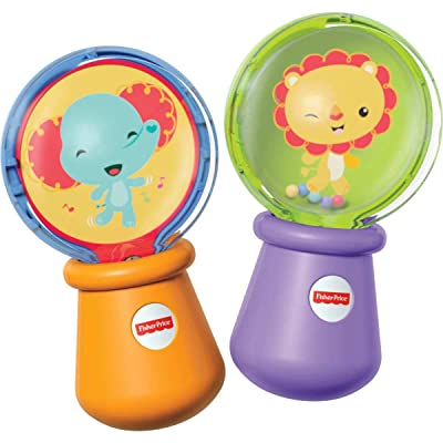 Fisher-Price Shake 'n Spin Maracas: Toys & Games