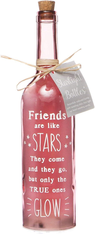 LED Light Up Bottle lovely Gift for Friends ideal Christmas//Birthday