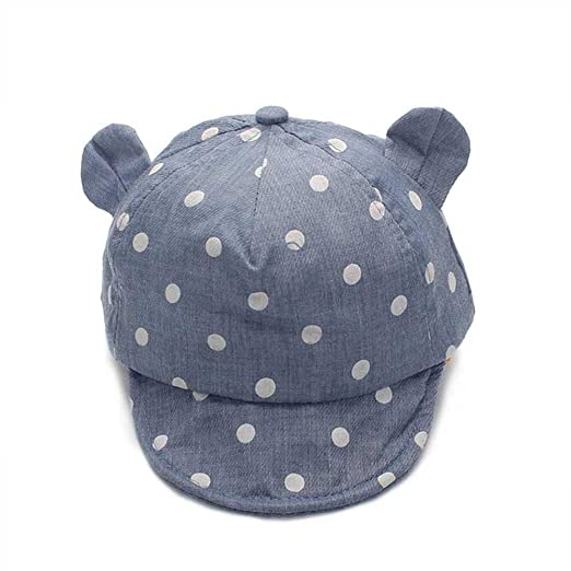 Amazon.com  Summer Infant Girl Boys Sun Hat Ear Sunscreen Hat Baby ... ff3794a8165