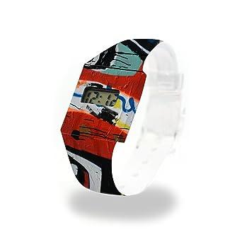 lichten Berg cartón Watch/Paper Watch/Reloj de pulsera ...