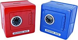 COMBINATION SAFE BANK - Home Decor - 1 Piece