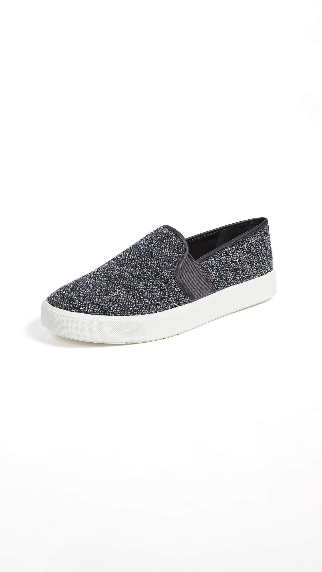 Vince Women's Blair Slip On Sneakers, Grey, 9.5 M US