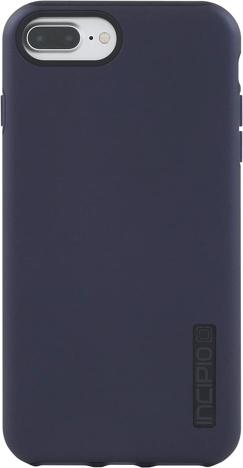 Incipio DualPro Protective Case with Dual Layer for Apple iPhone 7 Plus / 8 Plus Iridescent Midnight Blue