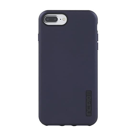low priced 80569 f632c Incipio DualPro Protective Case with Dual Layer for Apple iPhone 7 Plus / 8  Plus Iridescent Midnight Blue