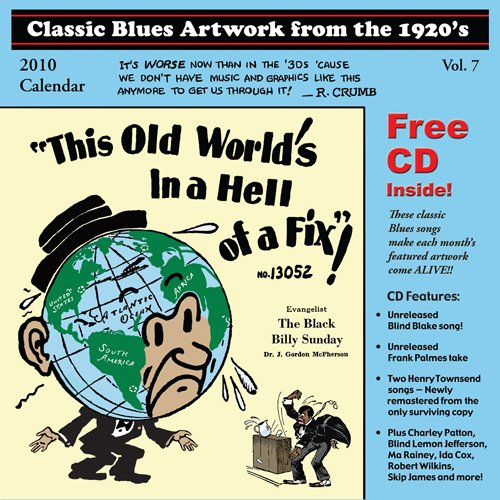 Classic Blues Artwork from the 1920's: 2010 Calendar (+CD)