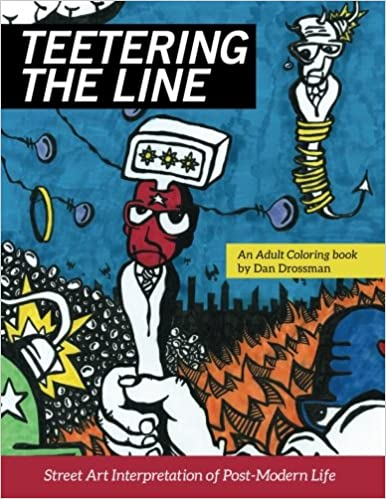 Amazon.com: Teetering the Line: an Adult Coloring Book: Street Art ...