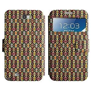 LEOCASE modelo lindo Funda Carcasa Cuero Tapa Case Para Samsung Galaxy Note 2 N7100 No.1004695