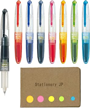 8 Colors set Pilot SPN-15M Petit 2 mini Sign pen with cap Japan