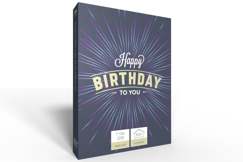 Feliz cumpleaños regalo Experiencia - elegir de 1500 ...