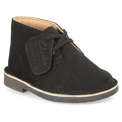 20bdbab3c1ce4 Clarks Originals Kids Black Suede Desert Boot Baby Prewalker 7.5 Wide US:  Amazon.co.uk: Shoes & Bags