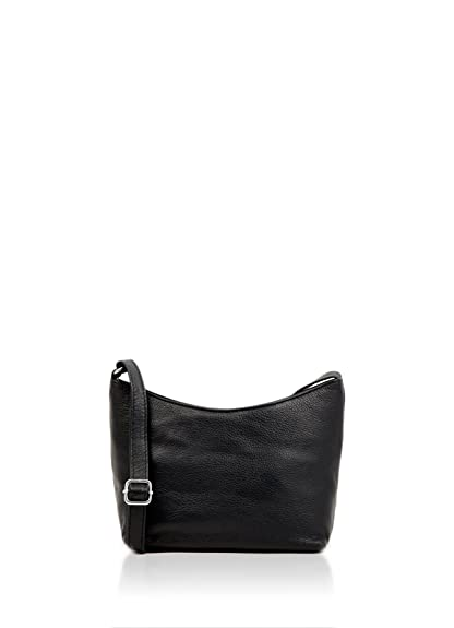24027d9b02de Lakeland Leather Women s Classic Soft Leather Shoulder Bag with Zip Top  Closure and Adjustable Strap in