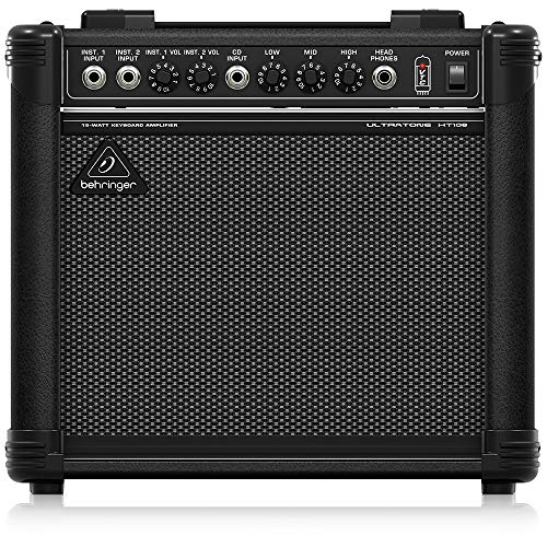 Behringer Ultratone KT108 Ultra-Compact 15-Watt Keyboard Amplifier
