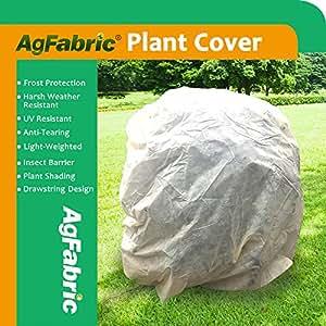 """agfabric cálido Worth Frost manta–1,5oz tela de 108""""hx96W arbusto chaqueta, rectangular para crecimiento de plantas para proteger los árboles de las heladas, diez"""